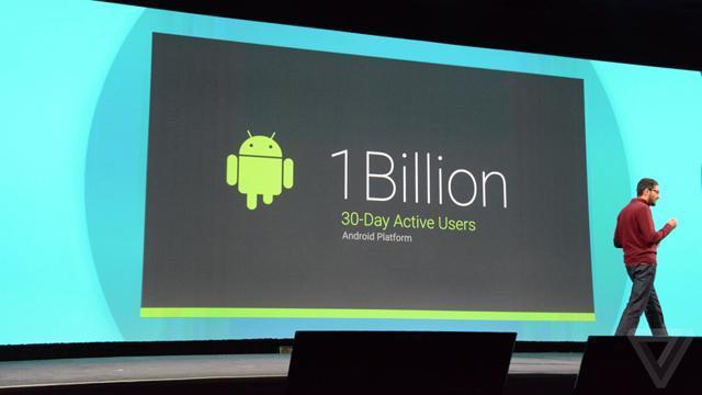 关于Android,让你震惊的一组数字