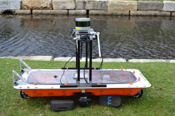 MIT再出黑科技!你们还在聊无人车的时候,无人船已下水